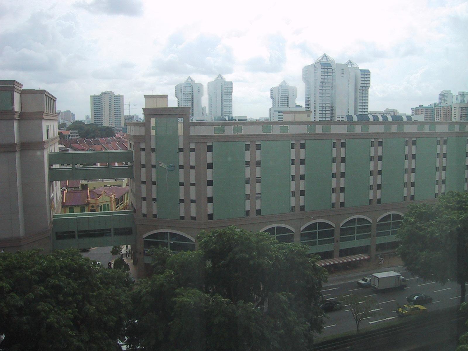 Kaupunkikuvaa Singaporessa