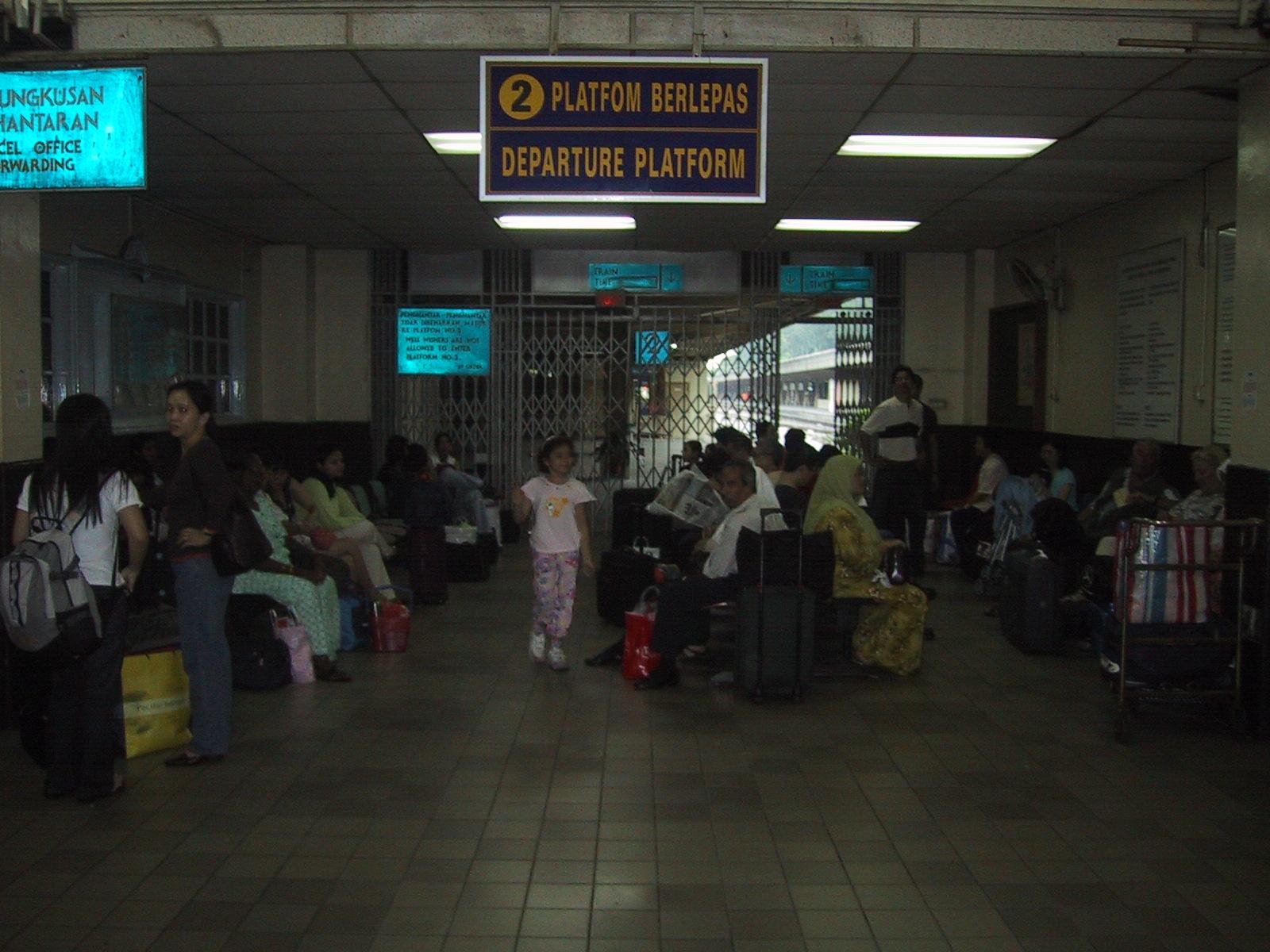 Singaporen rautatieasema