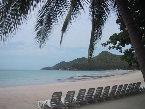Samuin ranta, kun se vielä oli kaunis